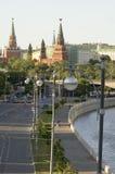 Kremlin wharf Stock Image