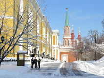 Kremlin  in winter Stock Photography