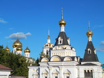 The Kremlin (XII century) in the town of Dmitrov, Russia. July, 2014 royalty free stock photos