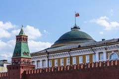 Kremlinen Arkivfoton