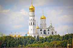 Orthodox Church. The kremlins church Royalty Free Stock Photography