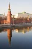 Kremlins Kontrollturm Stockbilder