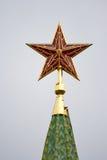 Kremlins Stern Lizenzfreie Stockbilder