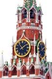 Kremlowscy kuranty w Moskwa obrazy royalty free