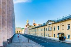 Kremlowska wycieczka turysyczna 8: Non jawny teren Kremlin obrazy stock