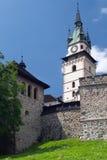 Kremnica城堡的设防  图库摄影