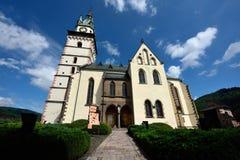 Kremnica城堡 免版税库存图片