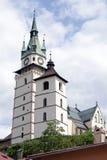 Kremnica镇城堡  库存照片