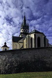Kremnica. In the center of Slovakia Stock Image