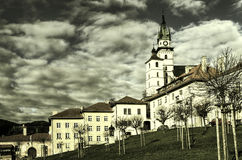 Kremnica. In the center of Slovakia Stock Photo