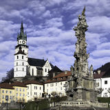 Kremnica. In the center of Slovakia Royalty Free Stock Images