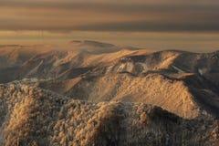 Kremnicke Vrchy wzgórza Fotografia Royalty Free
