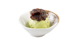 kremowa zielona lodowa herbata Zdjęcie Royalty Free