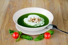 kremowa zupa Zdjęcia Stock
