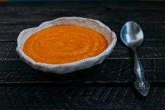 kremowa zupa Obraz Stock