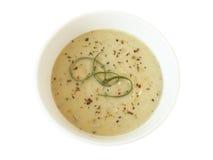 kremowa zupa o wycieku Fotografia Stock