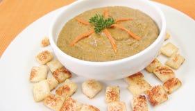 kremowa zupa z soczewicy Fotografia Royalty Free