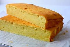 Kremowego sera masła tort Zdjęcie Stock