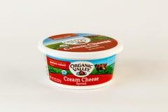 Kremowego sera rozszerzanie się Obrazy Stock