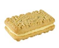 Kremowy Custard ciastko Zdjęcia Stock