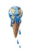 kremowy globalny lód Zdjęcie Royalty Free