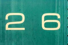 26 kremowy i zielona stara metalu tła tekstura Zdjęcie Royalty Free