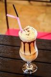 Kremowy latte Obrazy Royalty Free
