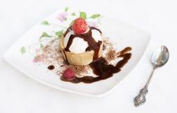 kremowy lodowy cukierki Obraz Royalty Free