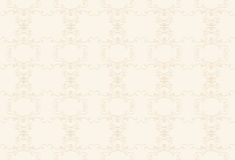 Kremowy tło z beżu wzorem Obrazy Royalty Free
