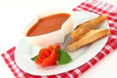 kremowy zupny pomidor zdjęcia royalty free