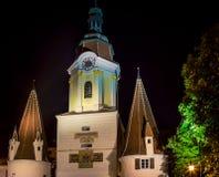 Krems Austria de la torre de reloj Fotos de archivo