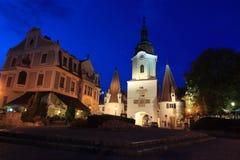Krems an der Donau at night. Austria Royalty Free Stock Photography