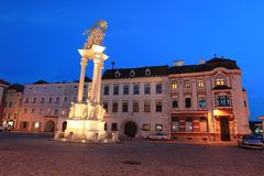 Krems at sunset Stock Images