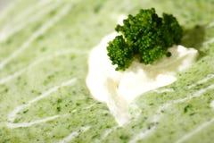 kremy brokuł zupy fotografia royalty free