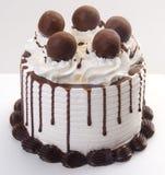 kremy szyszek tła czekoladowe lody lodu nad pistacjowym waniliowym truskawkowy white czekoladowy lody tort obraz stock