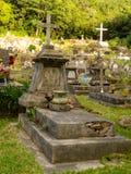 Kreolsk kyrkogård Arkivbild