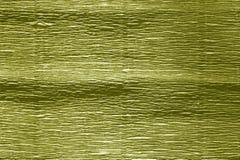 Krepdeszynowy papier z plama skutkiem w żółtym kolorze Obraz Stock
