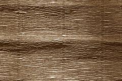 Krepdeszynowy papier z plama skutkiem w brown kolorze Zdjęcie Royalty Free