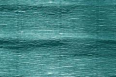 Krepdeszynowy papier z plama skutkiem w cyan kolorze Fotografia Royalty Free