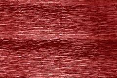 Krepdeszynowy papier z plama skutkiem w czerwonym kolorze Zdjęcie Stock