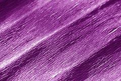 Krepdeszynowy papier z plama skutkiem w purpurach barwi Obrazy Royalty Free