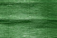Krepdeszynowy papier z plama skutkiem w zielonym kolorze Zdjęcie Royalty Free