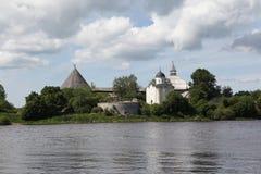 Krepost.Staraya Ladoga. Photo libre de droits