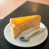 Krepp-Kuchen lizenzfreie stockbilder