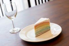Krepp-Kuchen Lizenzfreies Stockfoto