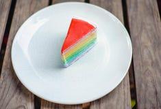 Krepp-Kuchen stockfotos