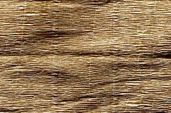 Krepppapier in der braunen Farbe Stockbild