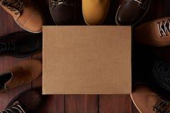 Kreskówki czysty obuwiany pudełko fotografia stock