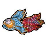 Kreskówek komiczki morze lub rzeki ryba Fotografia Royalty Free