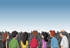 kreskówek ludzie Zdjęcie Royalty Free